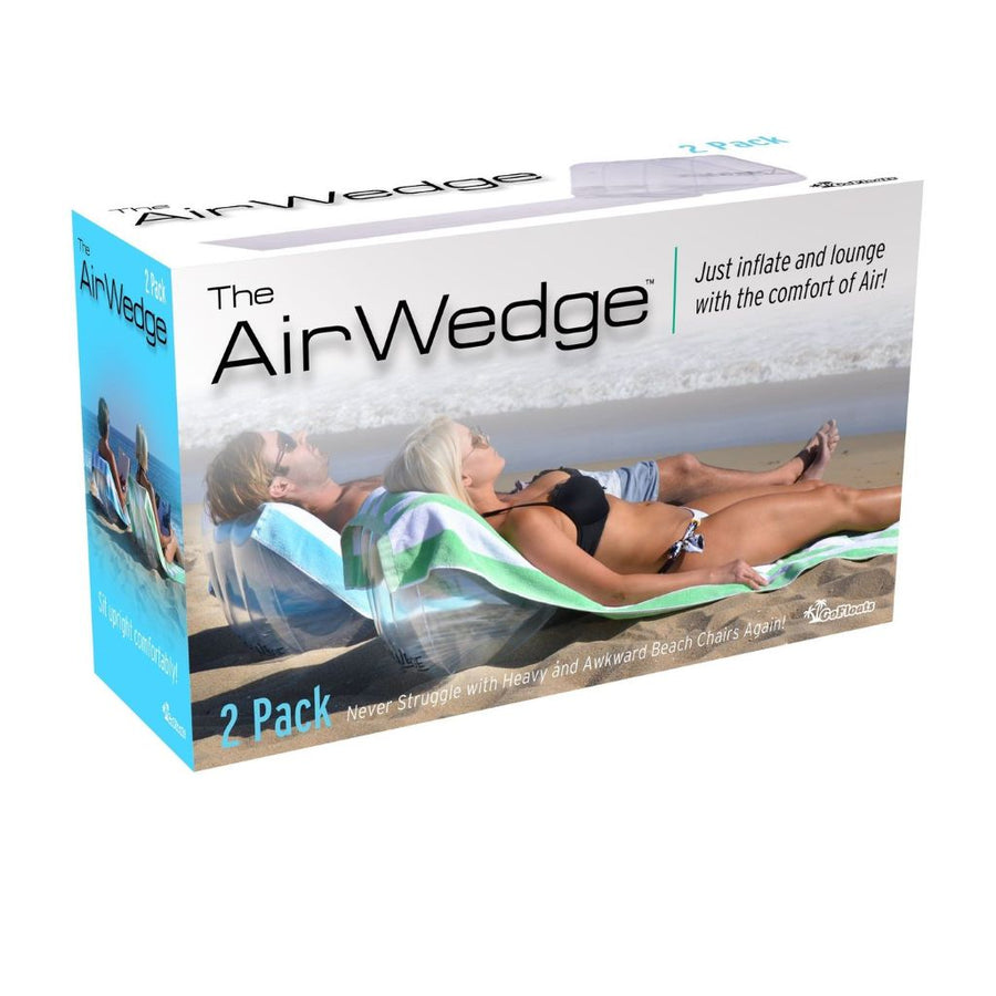 AirWedge Inflatable Beach Chair (2 Pack)