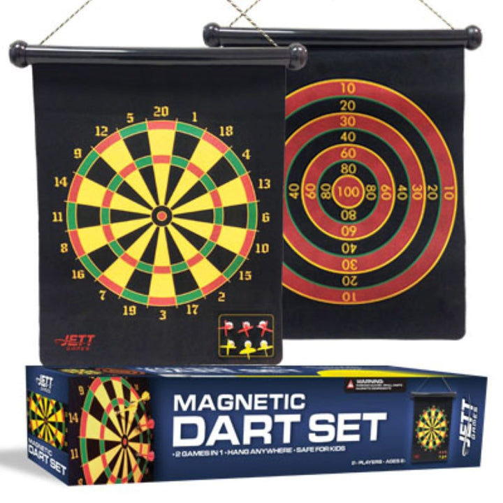 Magnetic 2 in 1 Dart Game