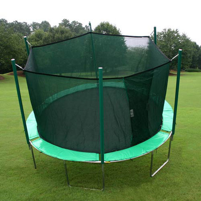 Magic Circle Trampoline with Safety Net (13.5')