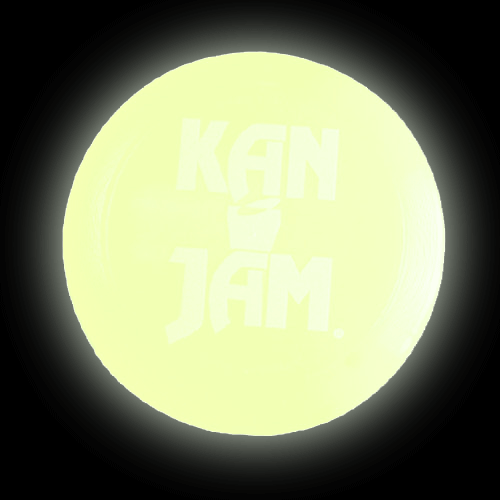KanJam Glow in the Dark Disc