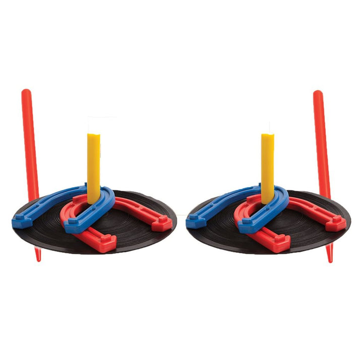 Rubber Indoor/Outdoor Horseshoe Set