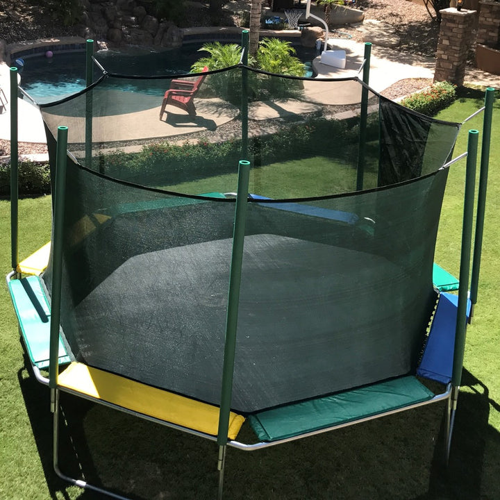 Magic Circle Trampoline with Safety Net (16')