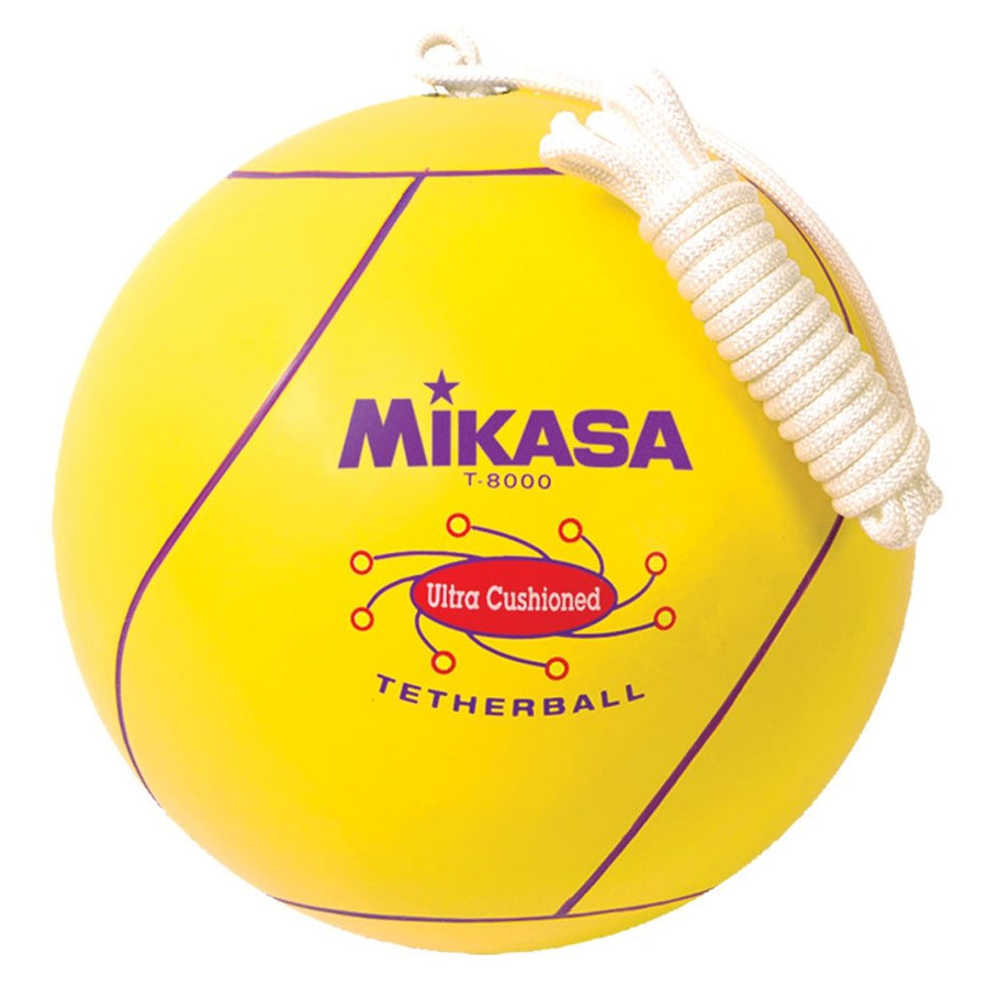 Rubber Tetherball with Rope
