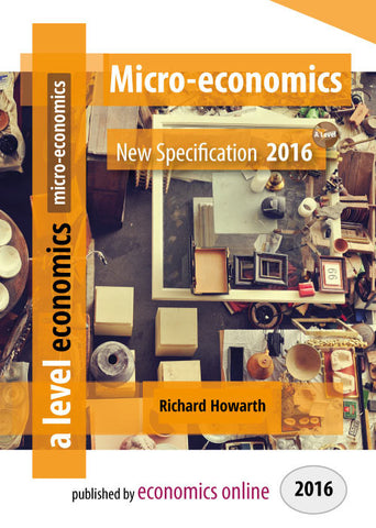 A Level Micro-economics New Specifiction - eBook (School & College license)