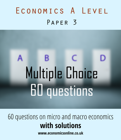 Multiple Choice for Paper Three (Schools and College License)
