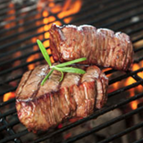 Creswick Farm's Filet Mignon Cooking On A Grill