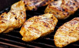 Creswick Farm's Cooked Garlic Parmesan Marinated Chicken Breast
