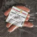 Creswick Farm's Oberon Brats In Their Packaging