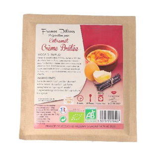 Creme Brulee 40g France Delices