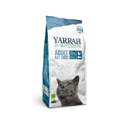 Croq. Poisson Chat 10kg Yarrah