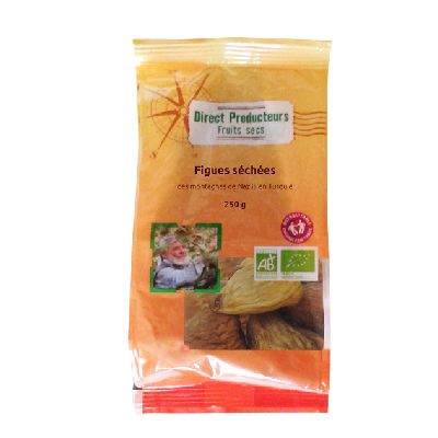 Figues Naturelles 250g Direct Producteurs