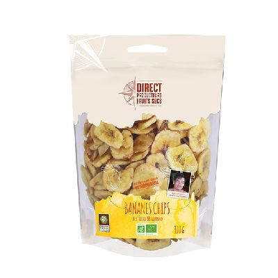 Bananes Chips 300g  Direct Producteurs