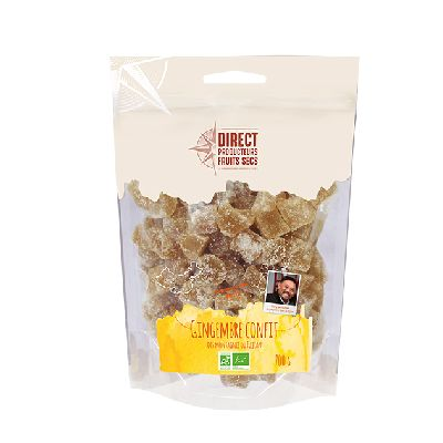 Gingembre Cubes 700g  Direct Producteurs