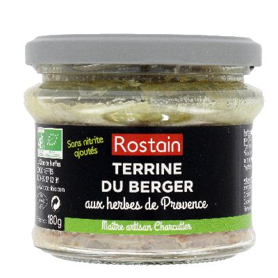 Terrine Berger 180g Rostain