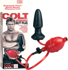 COLT Expandable Butt Plug (Black)