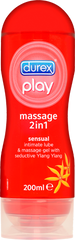 Durex Play 2 in 1 Massage Lubricant with Ylang Ylang - 200ml