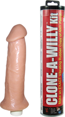 Clone A Willy Kit - Flesh (Vibrating Dildo)