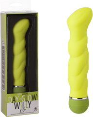 "Day Glow Vibe - 5.5"" Green Willy"