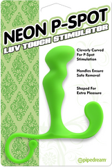 Neon P-Spot Luv Touch Stimulator - Green