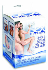 Sex in the Shower - Single Locking Suction Foot Rest