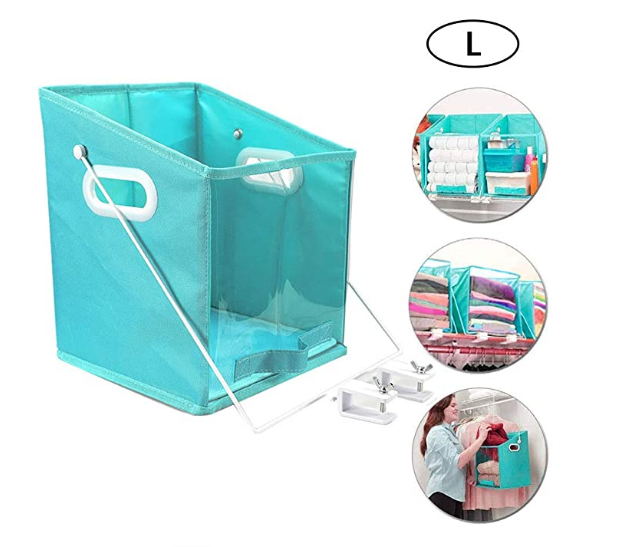 1 pc Closet Caddy Foldable Storage Box Bins
