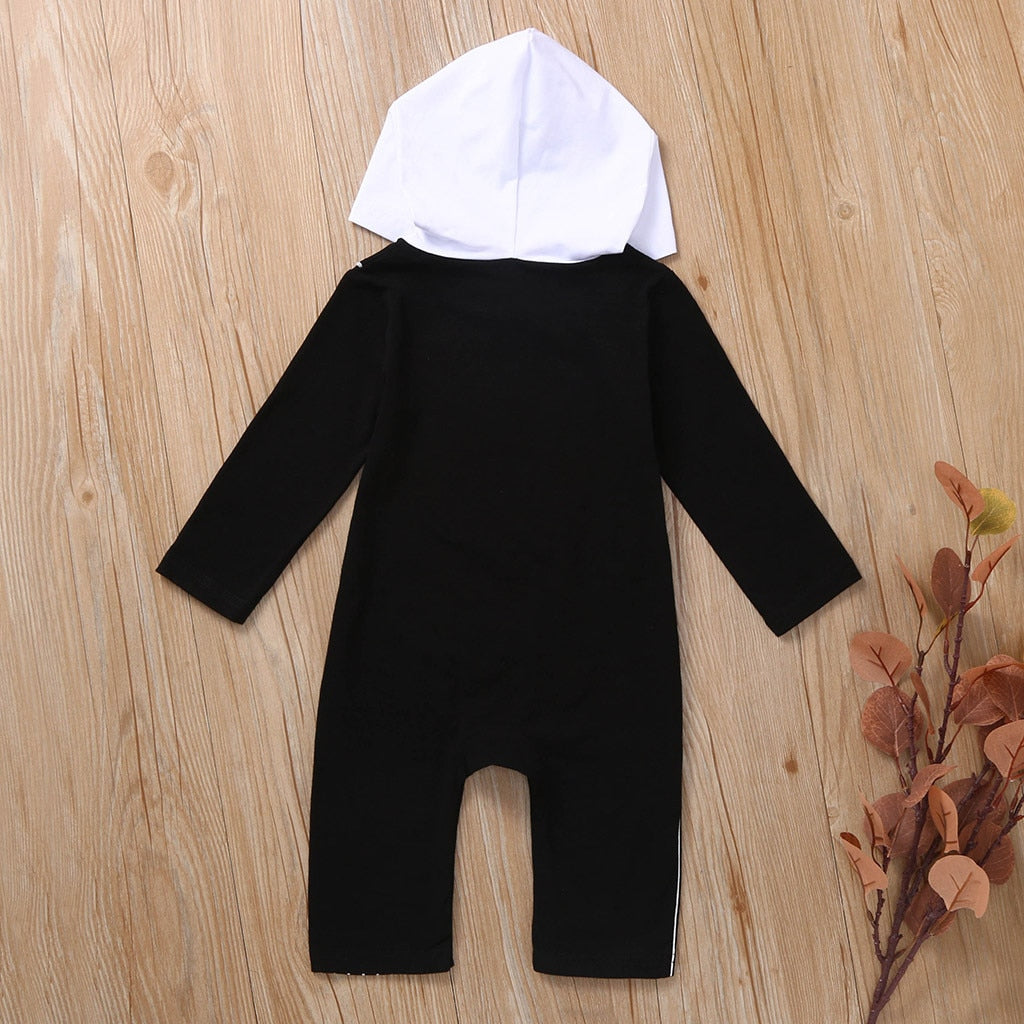 The Nightmare Before Christmas Jack Baby Hooded Jumpsuit