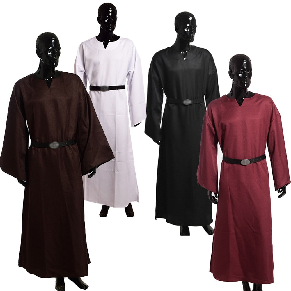 Robe Priest Costume Medieval Wicca Pagan Ritual