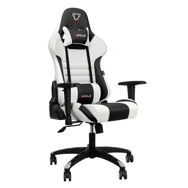 Furgle Gaming Chair White With PU Leather