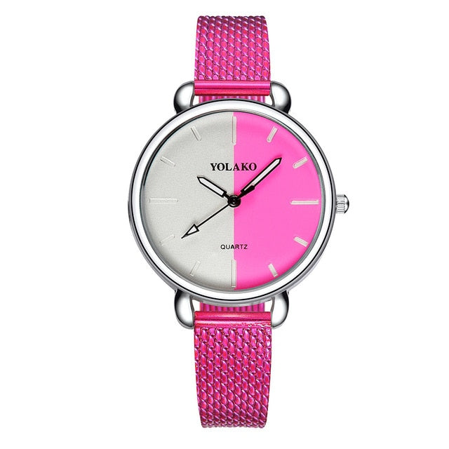 Women Watches  Casual Quartz Leather Band  Wristwatch