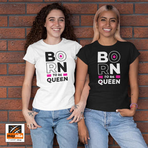 Posebna ponuda hudica + majica - Born to be Queen