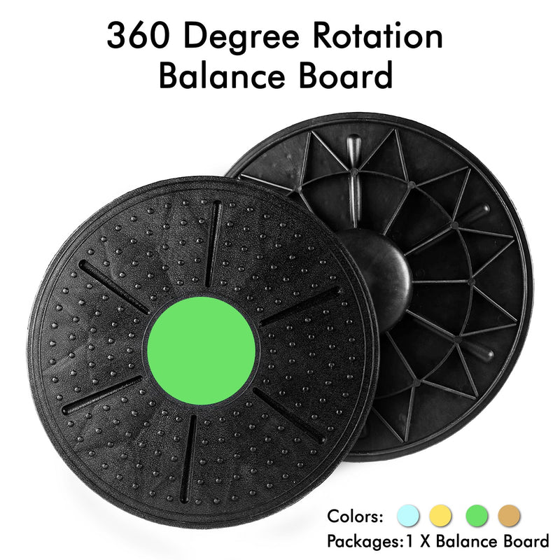 Goatygoaty® Balance Board Fitness Equipment - 360° Twist Rotation Exercise Disc