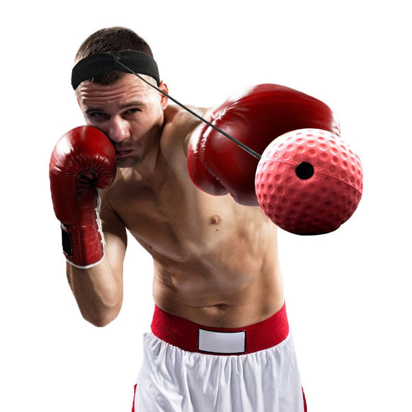 Speed Punch Boxing Head-mounted Reflex Ball