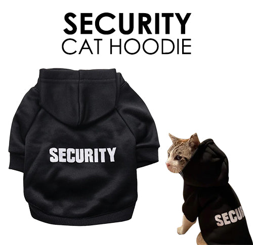 Security Cat Jacket Hoodie