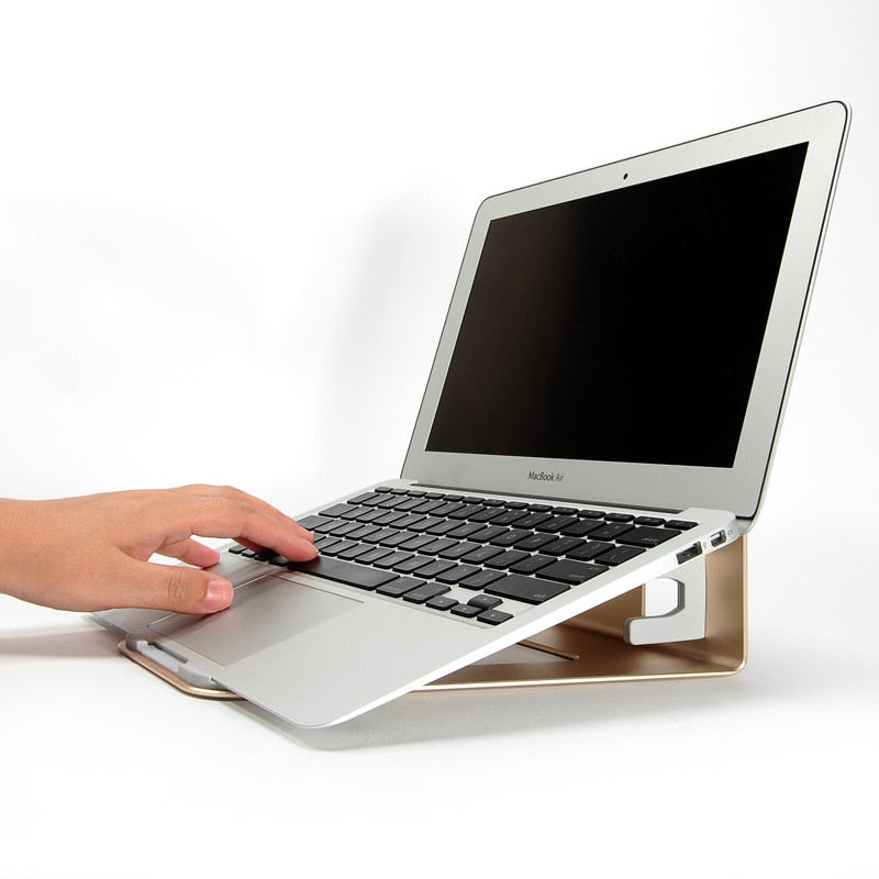 2 In 1 Aluminum Ergonomic Laptop Stand