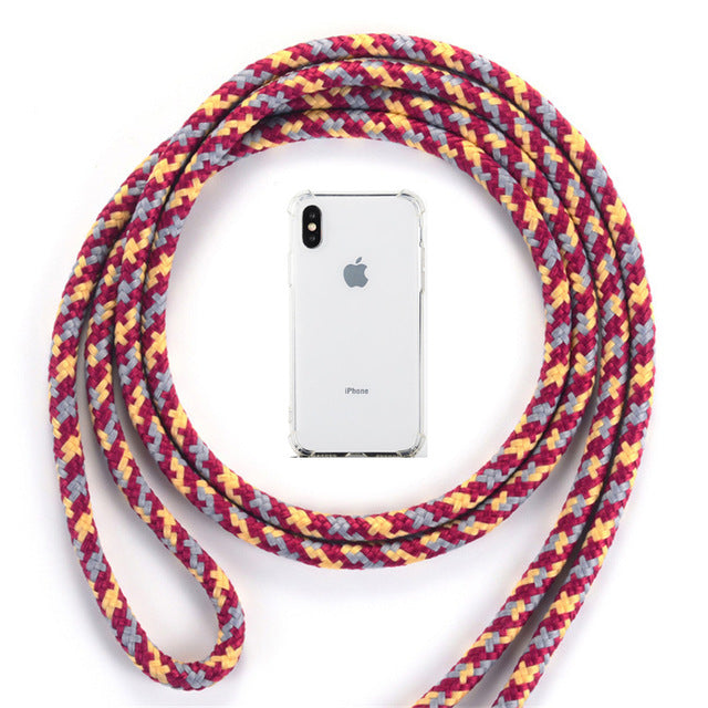 Cord Chain Phone Case