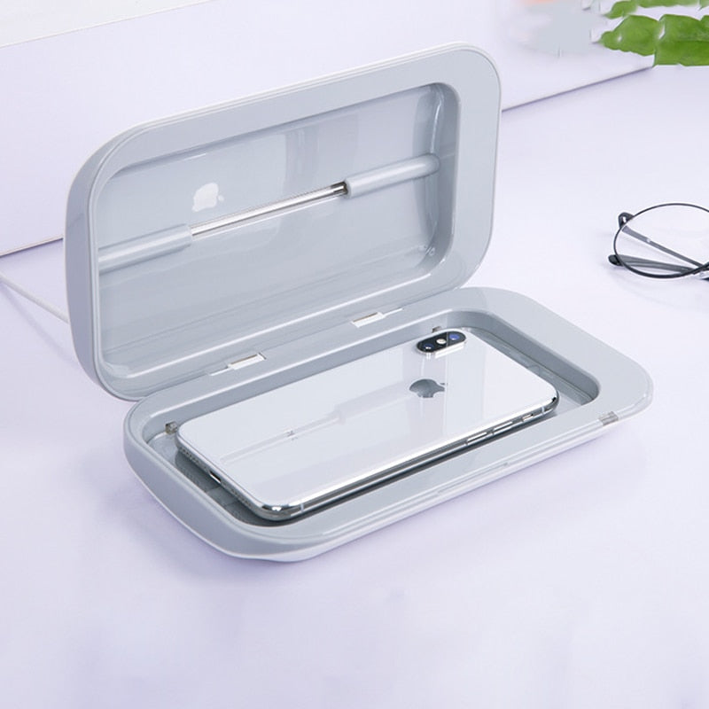 Portable Phone Cleaning Double UV Sterilizer Box
