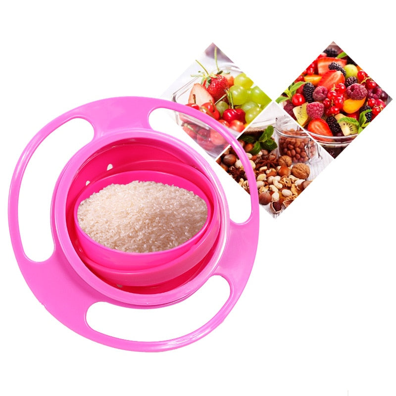 GOATYGOATY® Gyro Toddler Snack and Food Magic Bowl