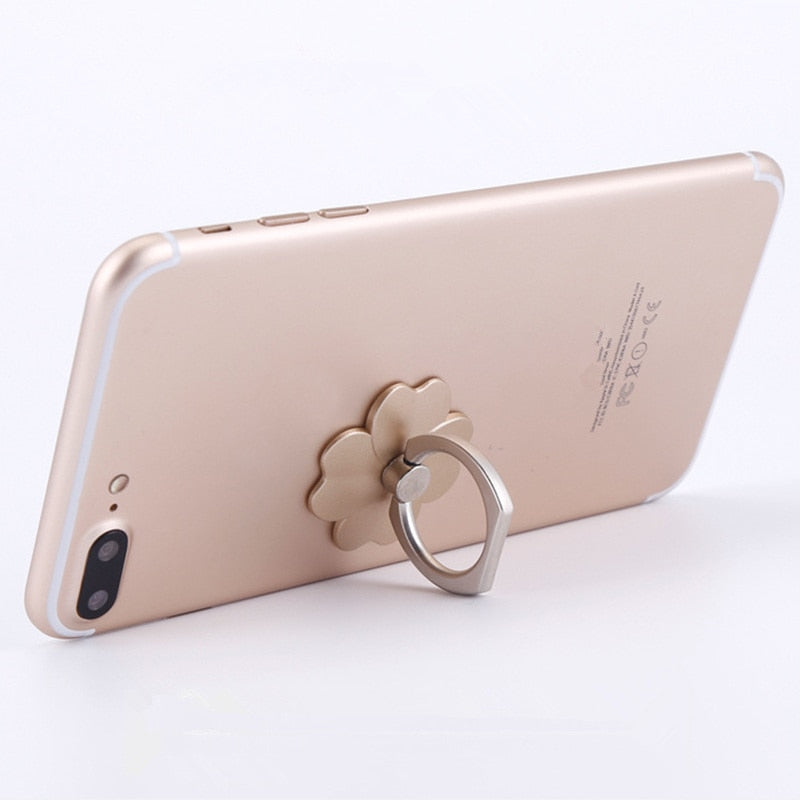 Finger Ring Mobile Phone Round  Holder