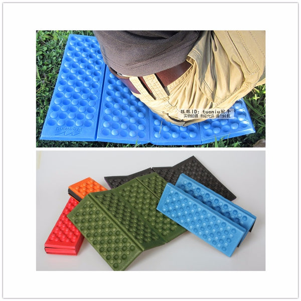 5 Colors Outdoor Folding Waterproof Camping Picnic Damp Proof Beach Sitting Cushion Foam Mat
