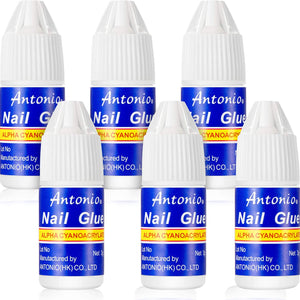 Best Nail Glue 5 Bottles 3g - TheNailsClub