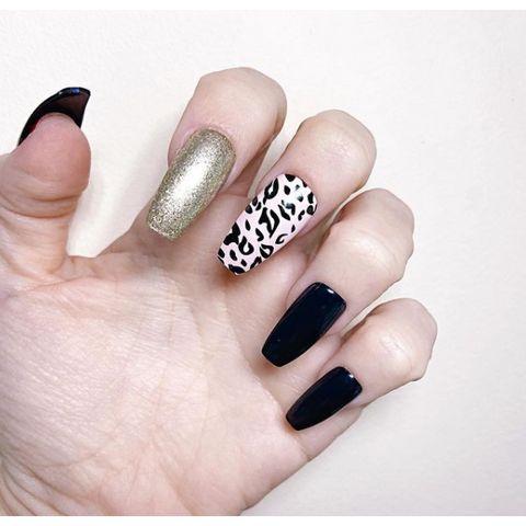 *Ready To Ship* Wild Medium Ballerina - TheNailsClub