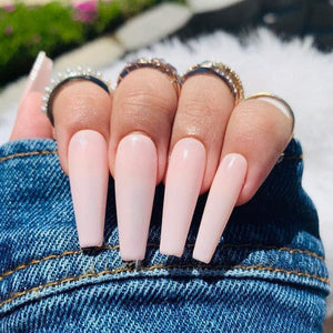 *Ready To Ship* Sweet Pink Long Ballerina - TheNailsClub