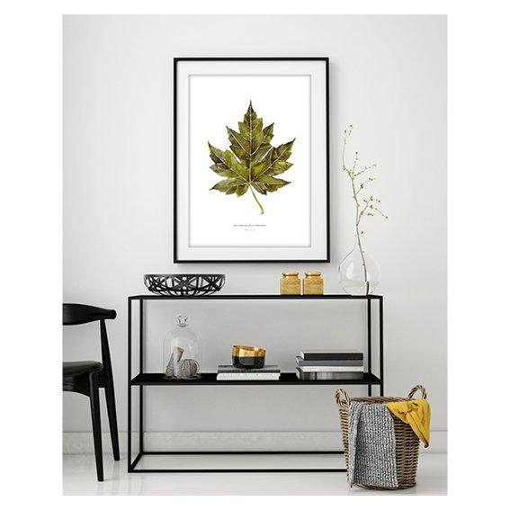 Kunstdruck - MAPLE LEAF Kunstdruck Leo la Douce