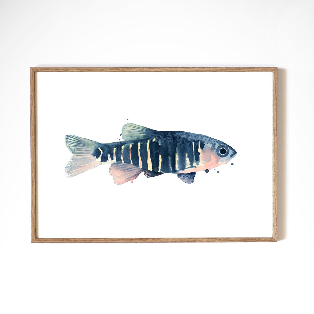 Kunstdruck - BLUE FISH Kunstdruck Atelier Leo la Douce