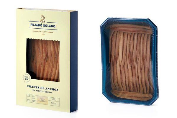 Pujado Solano Anchovy Fillets in oil