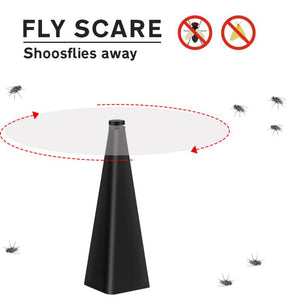 Fly Repellent - Fan Keep Flies And Bugs Away From Your Food Enjoy Outdoor Meal Mosquito Trap
