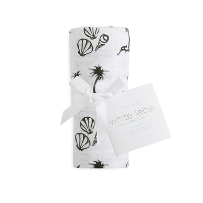 White Label Seaside Classic Muslin Single Swaddle