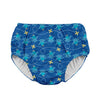 Mix & Match Snap Reusable Absorbent Swimsuit Diaper-Royal Blue Octopus