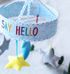 Say Hello' Starry Sky Cot Mobile