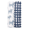 Aden + Anais Waverly 2-pack Muslin Swaddles